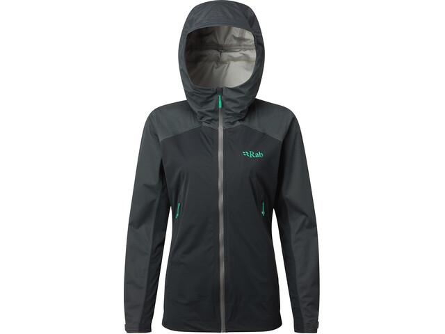 Rab Kinetic Alpine Jacket Takki Naiset, beluga